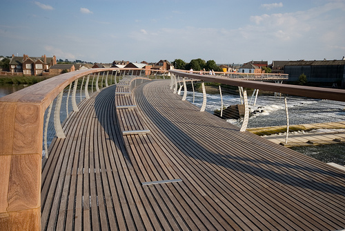 Image of Castleford Footbridge